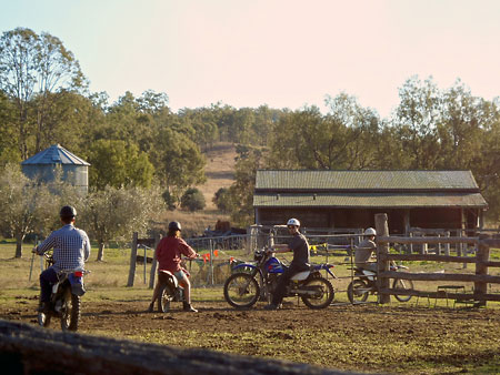 Farm Work: Motorbike riding training